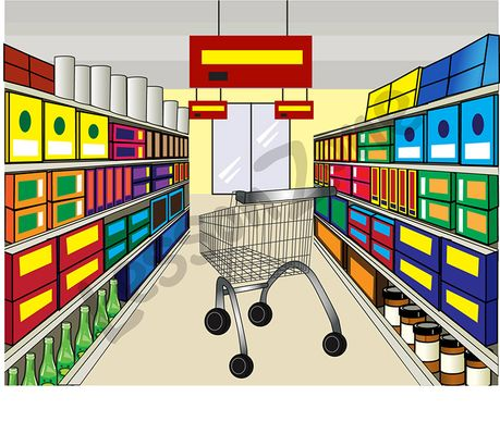 clip art freeuse download Panda free images . Supermarket clipart
