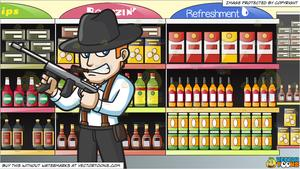 svg free library Supermarket clipart aisle. A gritty mobster and