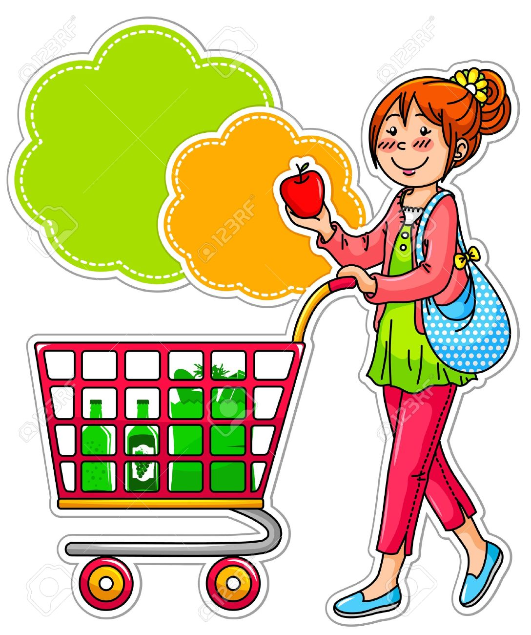 svg download Free grocery cliparts download. Supermarket clipart animated.