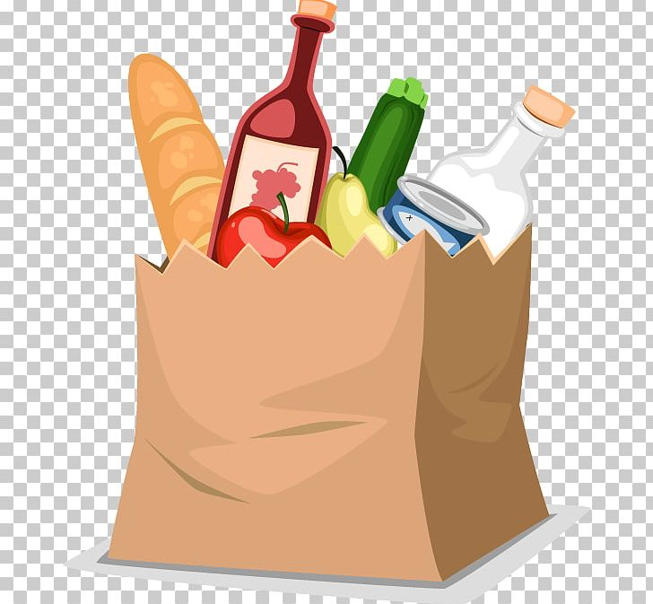 clip art freeuse download Food shopping grocery png. Supermarket clipart bag store