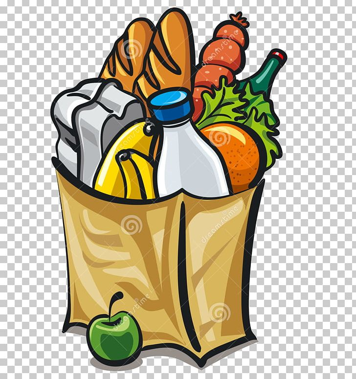 stock Grocery shopping bags trolleys. Supermarket clipart bag store