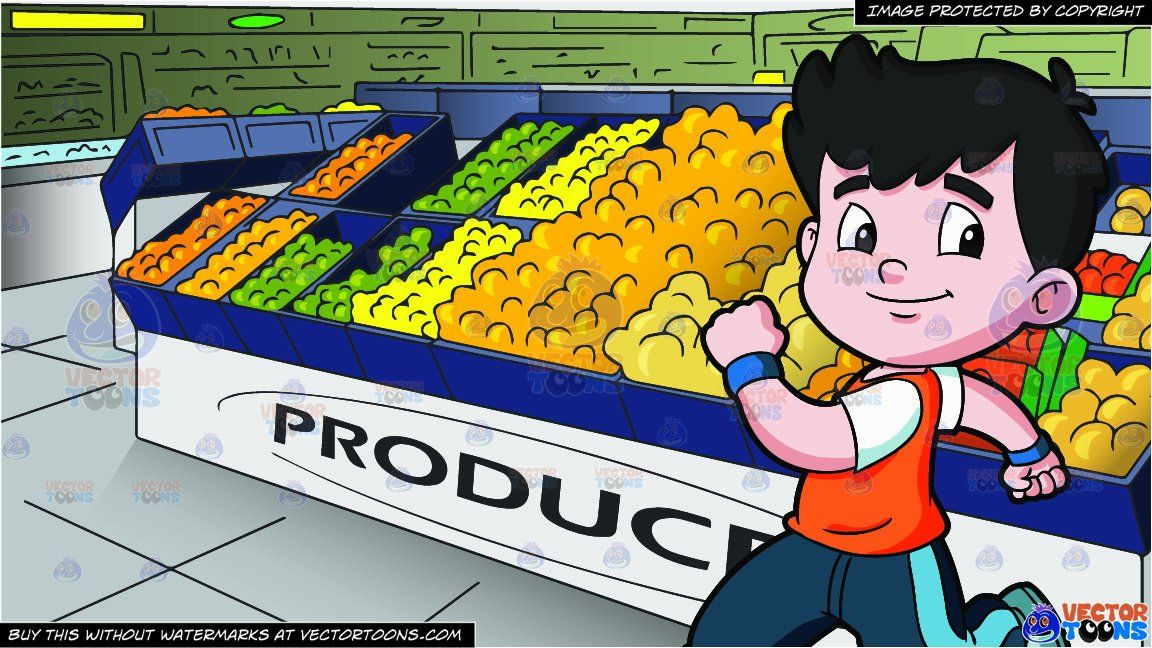 image free library Supermarket clipart boys. Cartoon a boy running