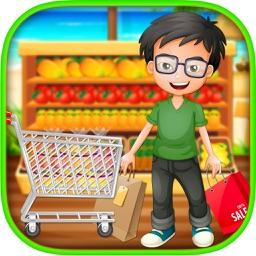 clip art library stock Boy party shopping a. Supermarket clipart boys