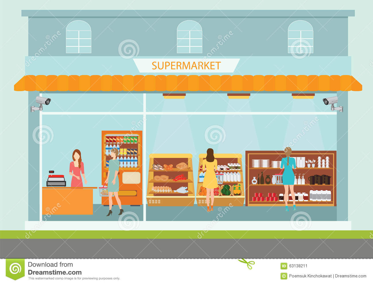 png transparent library Station . Supermarket clipart building