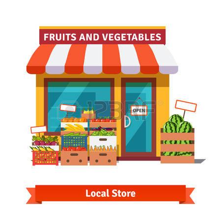clip art free Station . Supermarket clipart building