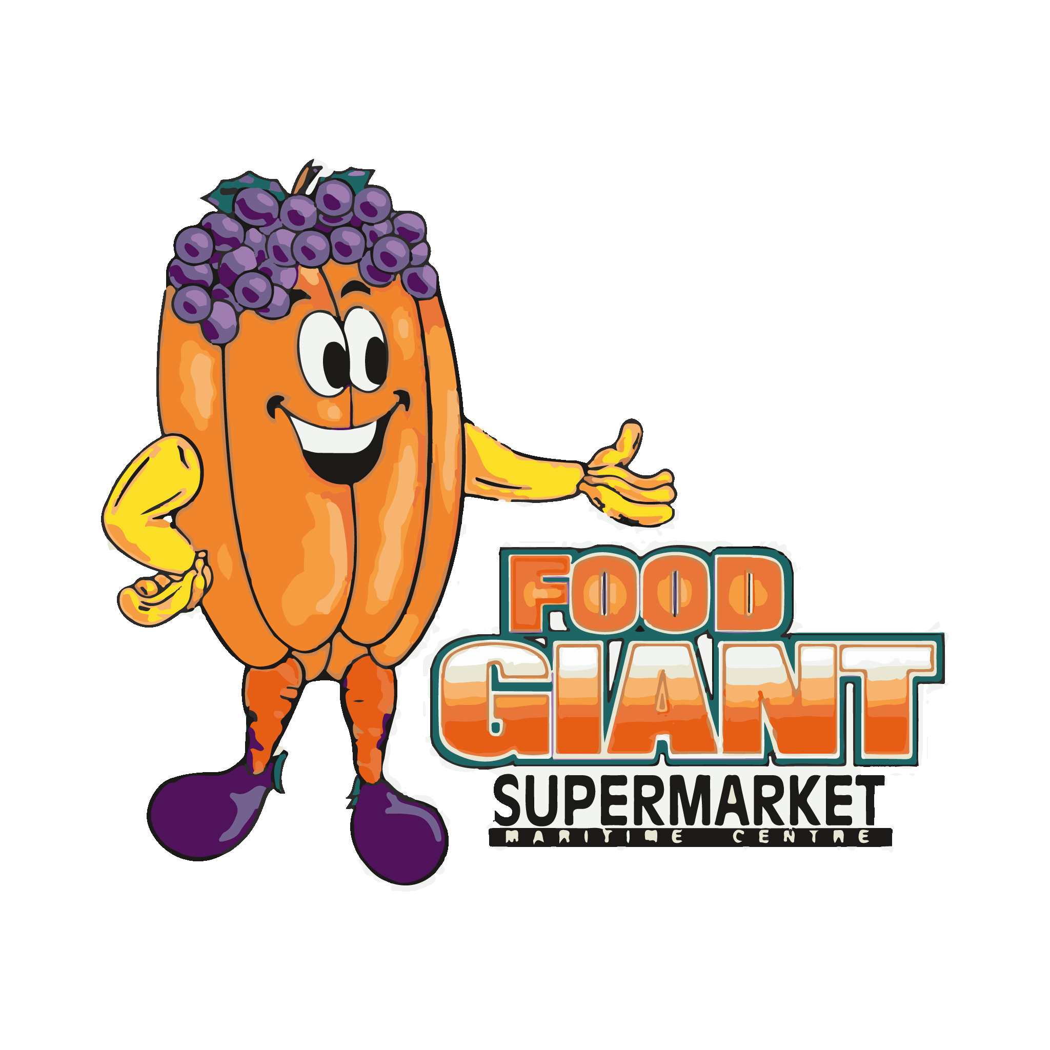 graphic freeuse download Supermarket clipart busy. Food giant the maritime