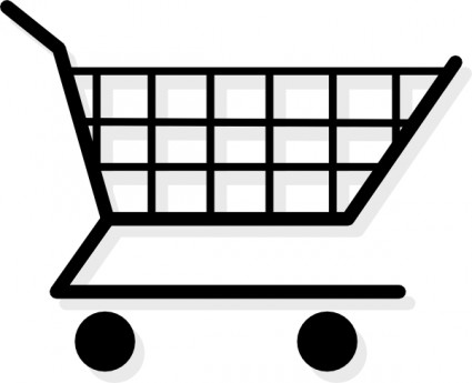 vector black and white download Free grocery shopping download. Supermarket clipart busy