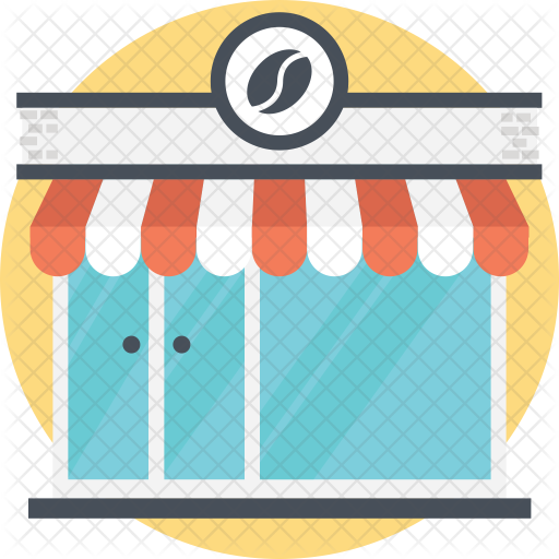 clipart library Icon real estate icons. Supermarket clipart cafe building.