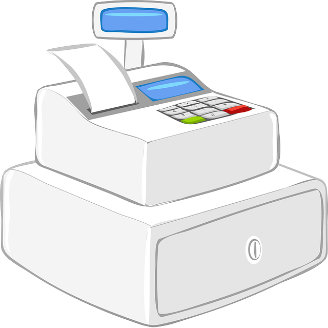 png royalty free library Using payoneer debit mastercard. Supermarket clipart casher