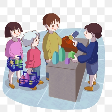 royalty free download Supermarket clipart checkout line. Free download supermarkets up.