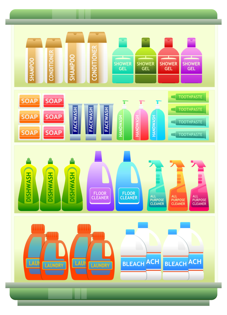 picture free stock Supermarket clipart counter. Goods shelf by viscious.