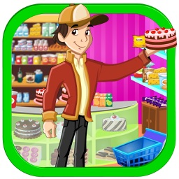 graphic freeuse download Boy party a market. Supermarket clipart crazy shopping