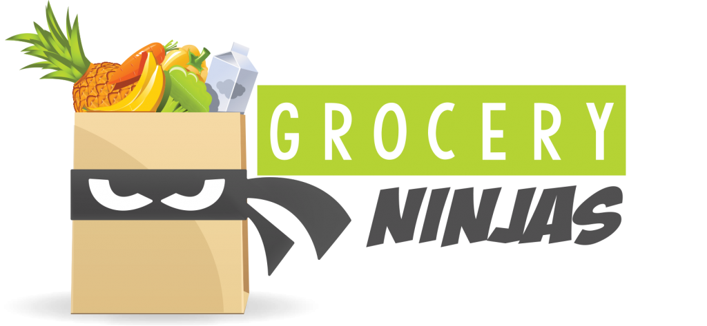 clipart royalty free download Supermarket clipart customer shopping. Grocery ninjas delivery service