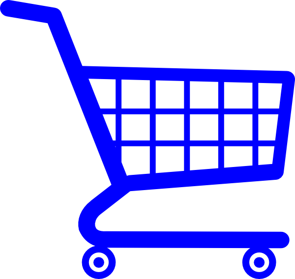 vector library stock Cart online shop shopping. Supermarket clipart cute