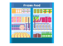 clip art transparent library Supermarket clipart frozen food. Search results for grocery.