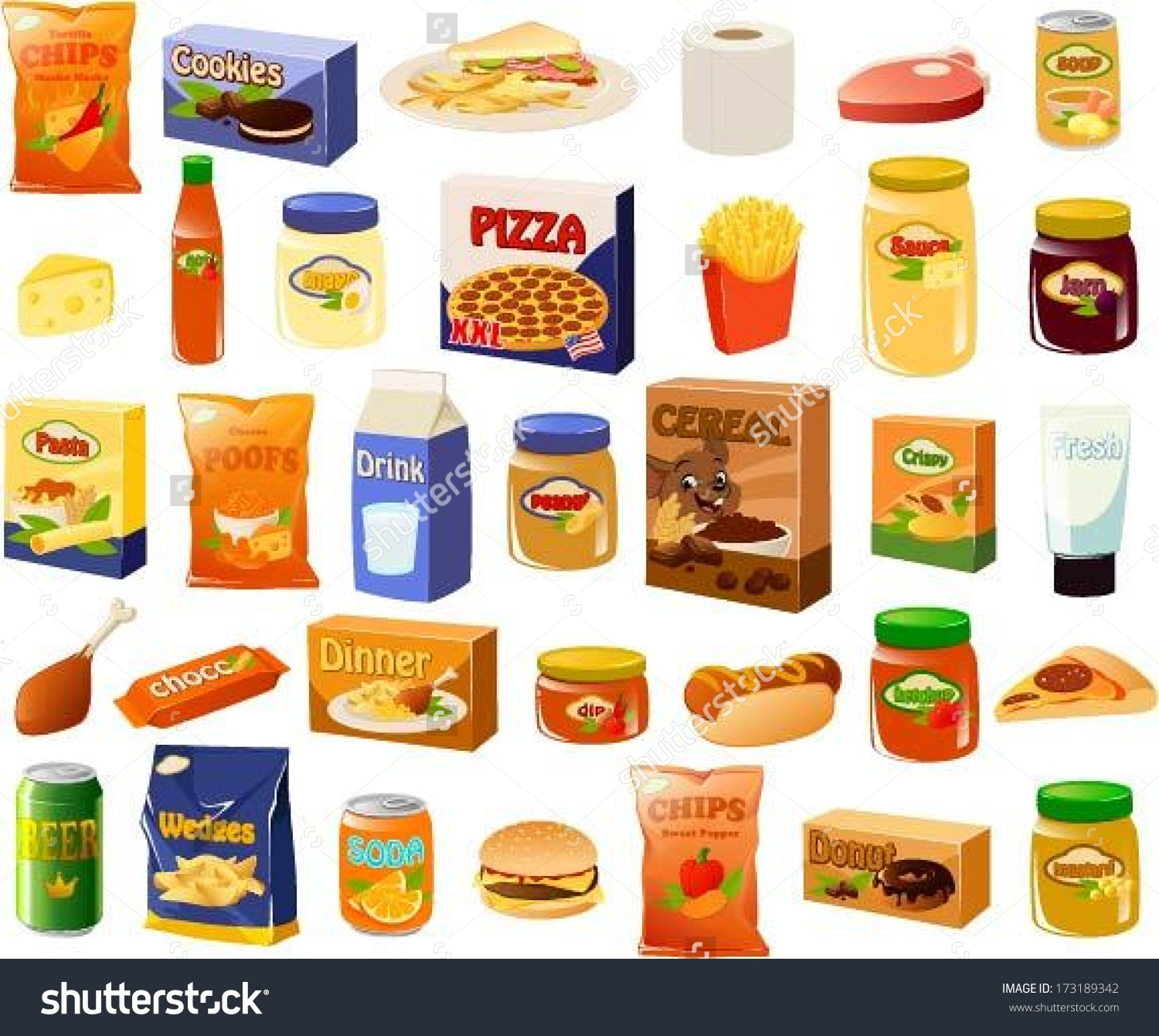 clip art royalty free stock Supermarket clipart frozen food. Free meal cliparts download