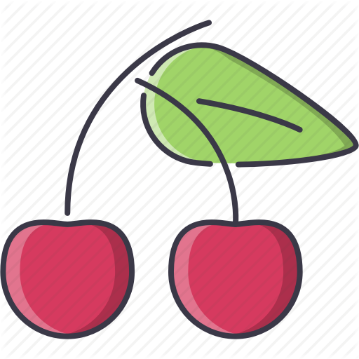 jpg royalty free Supermarket clipart fruit. Food filled outline by