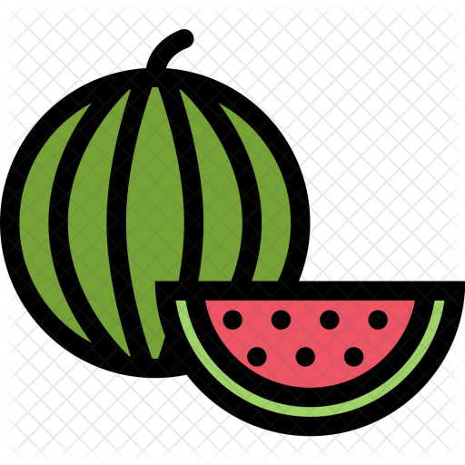 free download Watermelon vegetables food icon. Supermarket clipart fruit