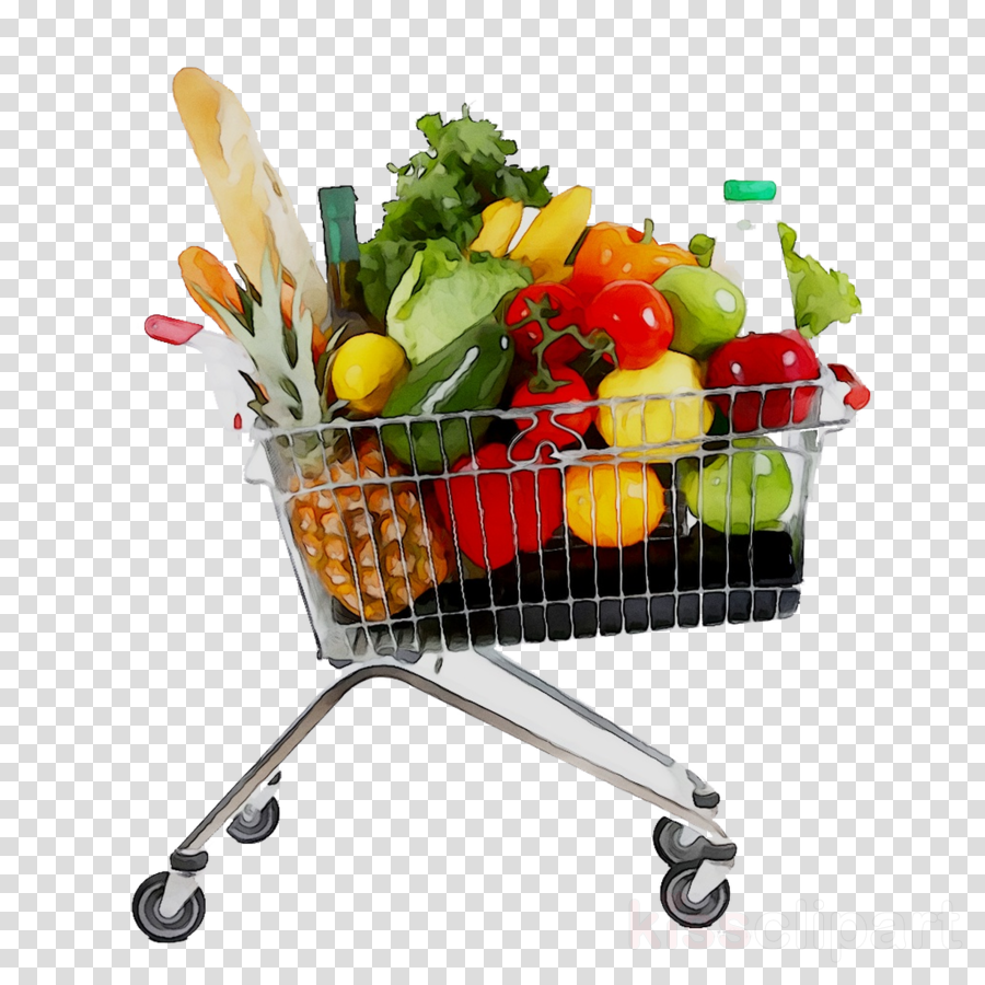 banner royalty free Supermarket clipart full grocery cart. Cartoon shopping product .