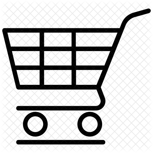 freeuse download Supermarket clipart full grocery cart. Shopping icon ecommerce icons.