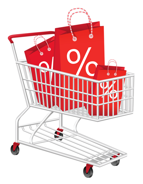 vector freeuse download Supermarket clipart full grocery cart. Shopping png .
