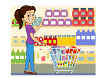 picture royalty free library Supermarket clipart general store. Free grocery cliparts download