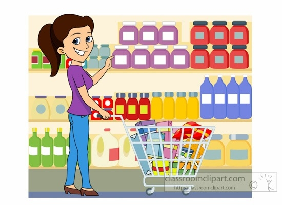 clip art freeuse download Grocery transparent . Supermarket clipart go to store