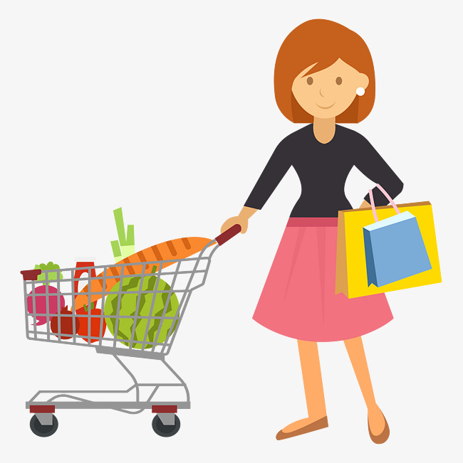 clip art royalty free stock Buy go transparent free. Supermarket clipart going to market