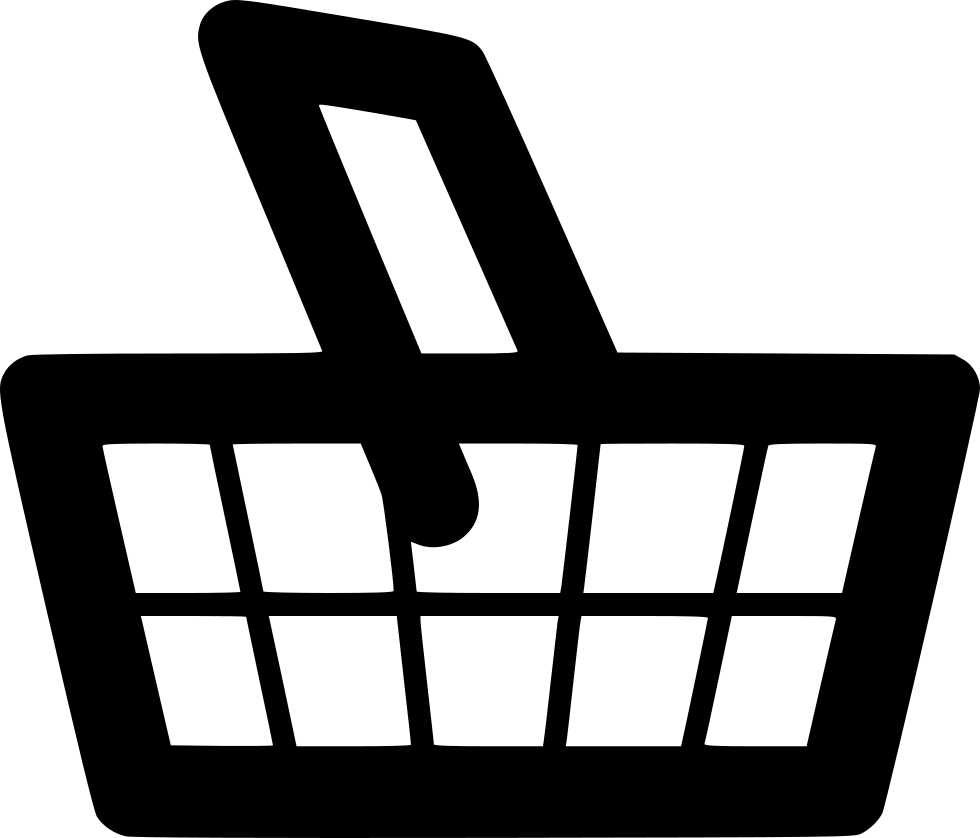 picture stock Svg png icon free. Supermarket clipart grocery basket.