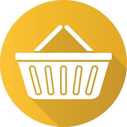 clip free stock Supermarket clipart icon. Basket image clip arts