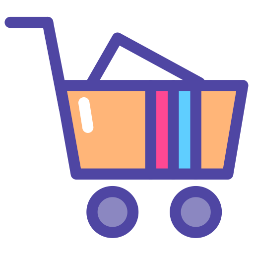 clipart royalty free download Supermarket clipart icon. Shopping cart png and