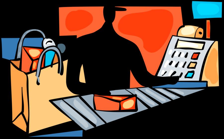 clip transparent Cartoon . Supermarket clipart illustration