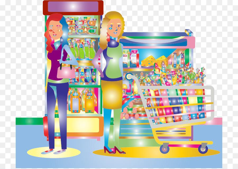 svg black and white download Supermarket clipart illustration. Cartoon