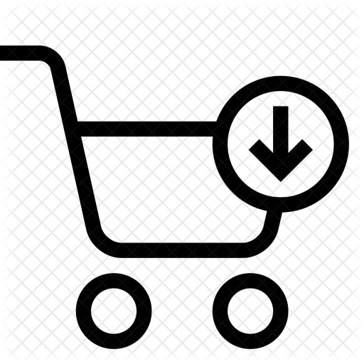 image freeuse stock Supermarket clipart infographic. Shopping cart strolley arrow