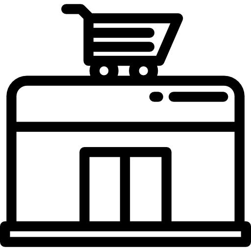 banner royalty free library Supermarket clipart interior. Icon page.
