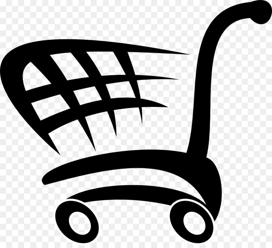 vector library download Supermarket clipart logo. Cartoon shopping retail .