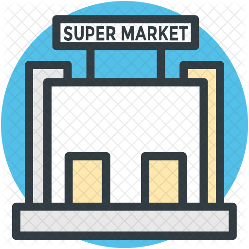 picture free library Supermarket clipart mall. Icon miscellaneous icons in.