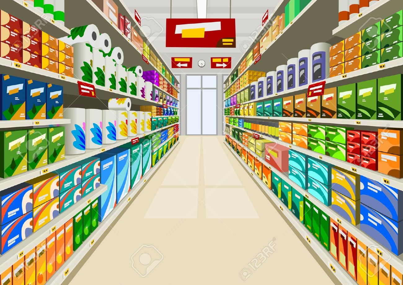 jpg free stock Supermarket clipart mall. Free shopping cliparts download.