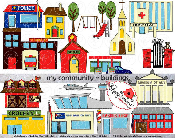 image free library Supermarket clipart municipal hall. Pin by etsy on.