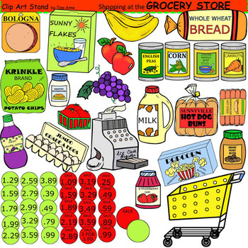 svg transparent download Clip art grocery . Supermarket clipart provision store