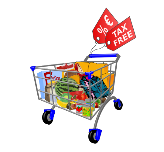 clipart library Supermarket clipart purchase. Tax free shopping across