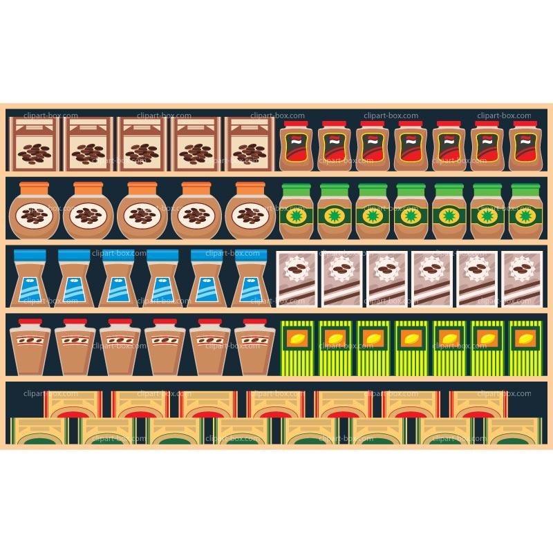 clipart royalty free stock Clip art library . Supermarket clipart shelf