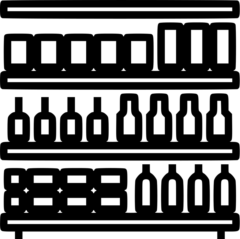 image library stock Supermarket clipart shelf. Store png hd transparent