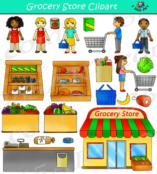 graphic download Supermarket clipart shoping. Grocery store drawing at