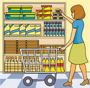 vector transparent library Free grocery cliparts download. Supermarket clipart shoping