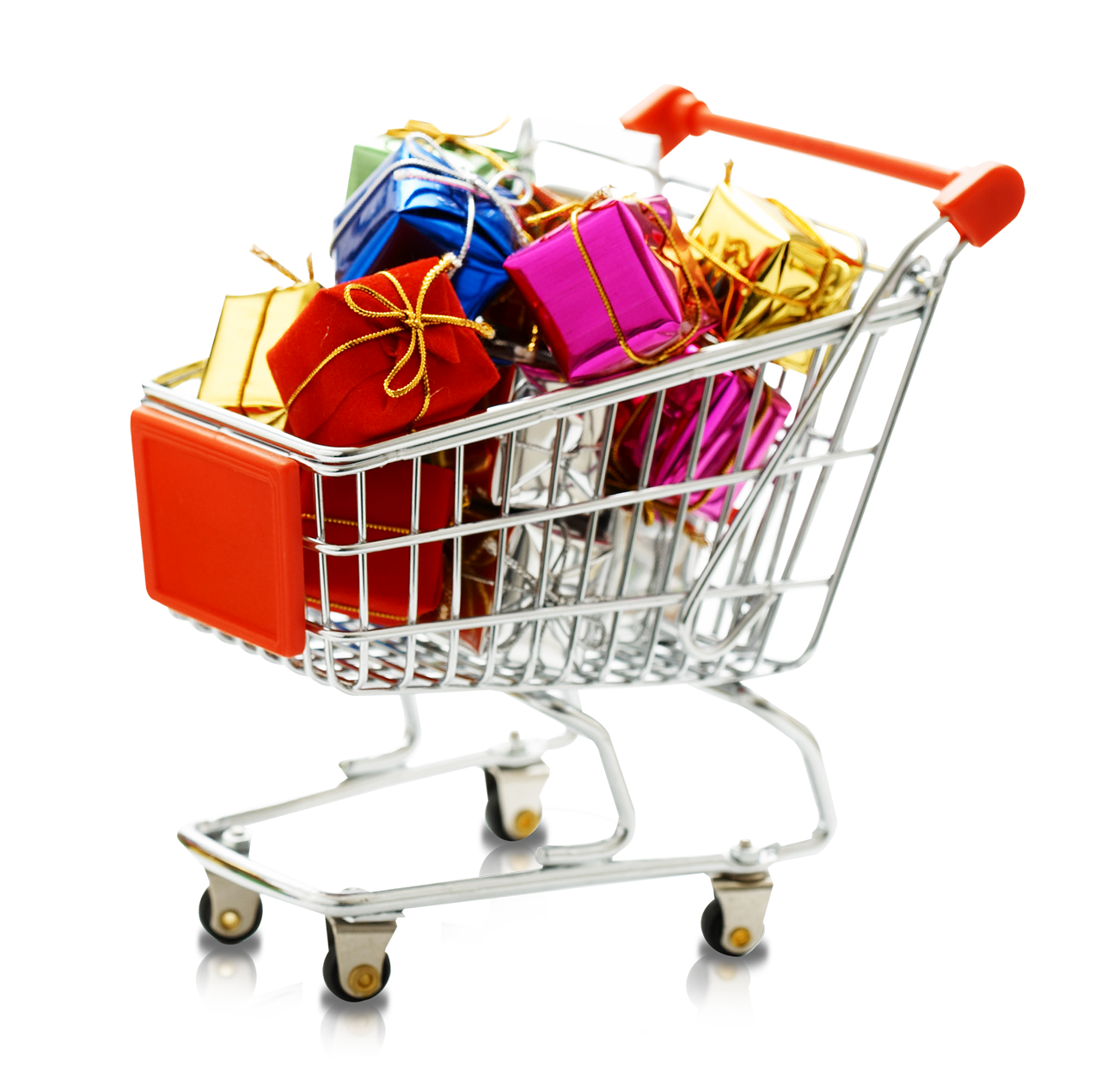 jpg library Supermarket clipart shopping area. Cart centre gift