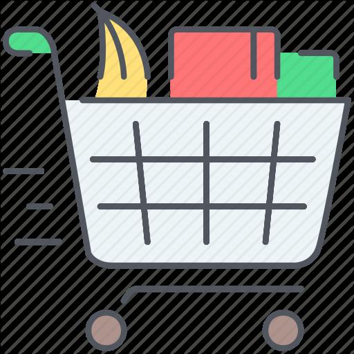 clip art transparent stock Supermarket clipart shopping bill. Shop until you drop