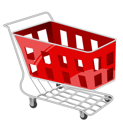 picture freeuse download Supermarket clipart shopping trolly. Vista by iconshock basket