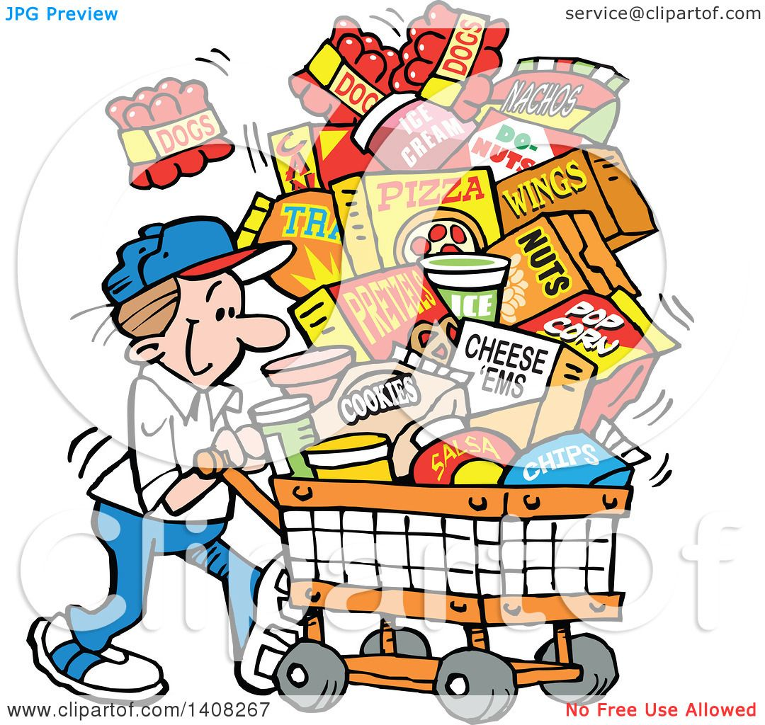 free download Supermarket clipart snack shop. Snacks cartoon free download
