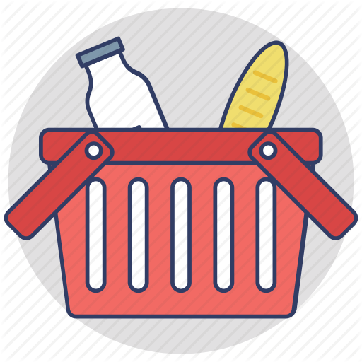 clip free library Supermarket clipart stall. Shopping and commerce by